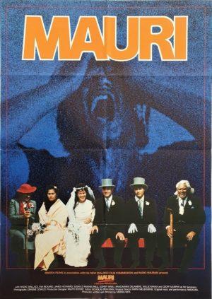 Mauri New Zealand One Sheet Poster staring Anzac Wallace