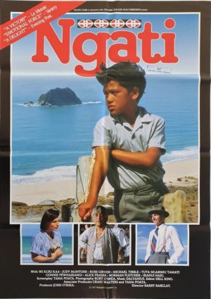 Ngati New Zealand One Sheet Movie Poster 1987