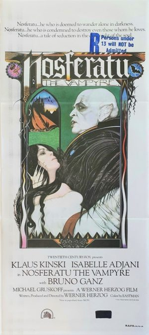 Nosferatu Australian daybill movie poster (7)