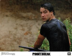 Point Break US Lobby Card set with Keanu Reeves and Patrick Swayze (1)