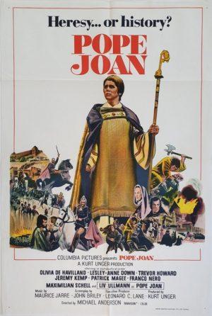 Pope Joan Australian One Sheet poster