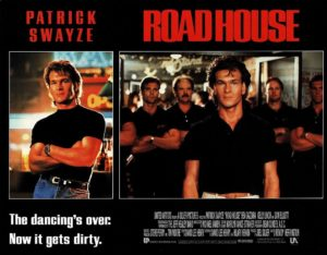 Road House US Lobby Card Set 1989 with Patrick Swayze (2)