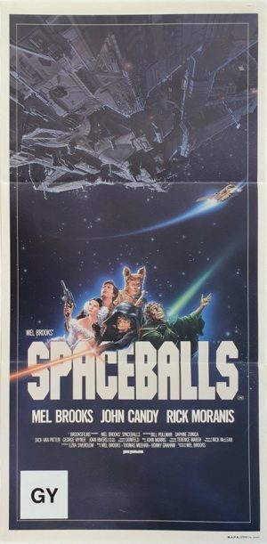 Spaceballs Australian daybill movie poster (10)