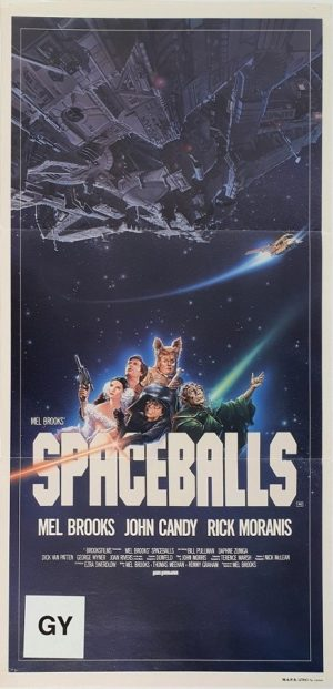 Spaceballs Australian daybill movie poster (9)