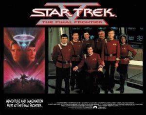 Star Trek V The Final Frontier US Lobby Card Set 1989 (1)