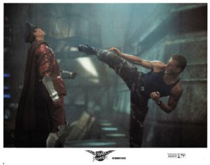 Street Fighter 1994 US Lobby Card Set with Jean-Claude Van Damme and Kylie Minogue (2)