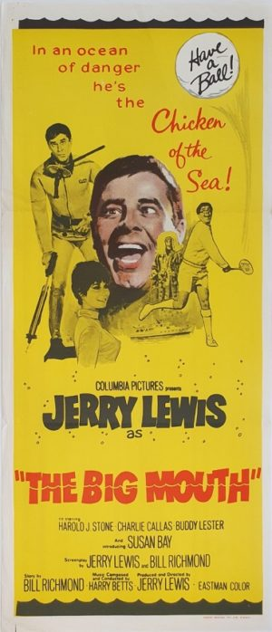 The Big Mouth Jerry Lewis Australian daybill movie poster (14)