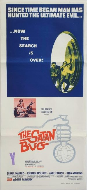 The Satan Bug Australian daybill movie poster (9)