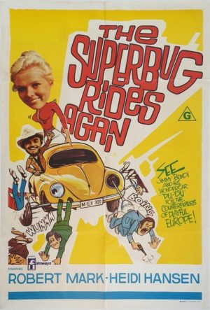 The Superbug Rides Again Australian One Sheet poster