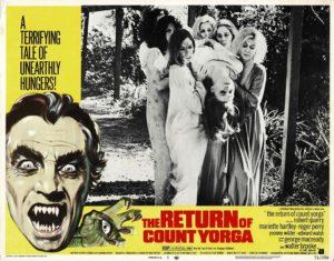 The return of count Yorga US Lobby Card (7)