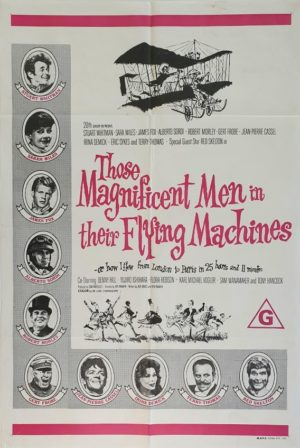 Those Magnificent Men in Their Flying Machines Australian One Sheet movie poster (2)