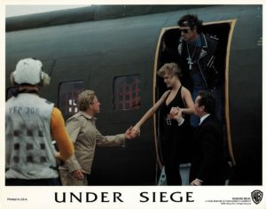 Under Siege US Lobby Card Set Steven Seagal and Tommy Lee Jones 1992