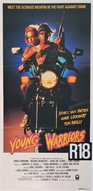 Young Warriors Australian daybill movie poster (11)