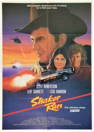 Shaker Run New Zealand One Sheet movie poster