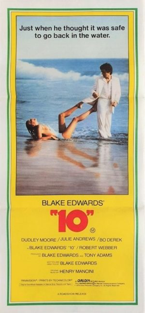 10 Australian daybill poster with Bo Derek and Dudley Moore (3)