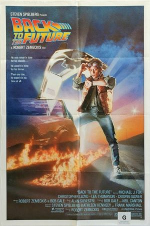 Back to the future US One Sheet Poster (2)