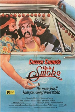 Cheech and Chong Up In Smoke UK One Sheet poster (1)