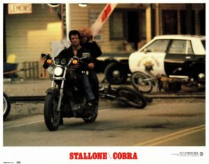 Cobra US Lobby Card Stallone (4)