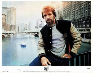 Code of Silence US Lobby Cards 1985 with Chuck Norris