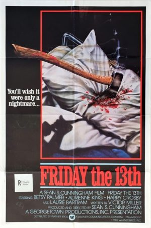 Friday the 13th US One Sheet poster (2)