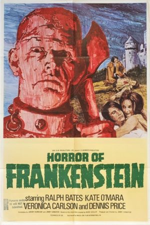 Horror Of Frankenstein UK One Sheet Poster (1)
