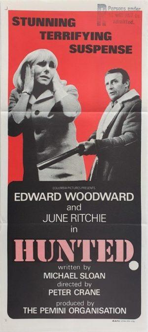 Hunted Australian Daybill Poster