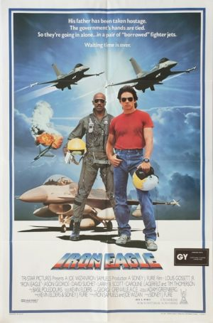 Iron Eagle US One Sheet movie poster 1986