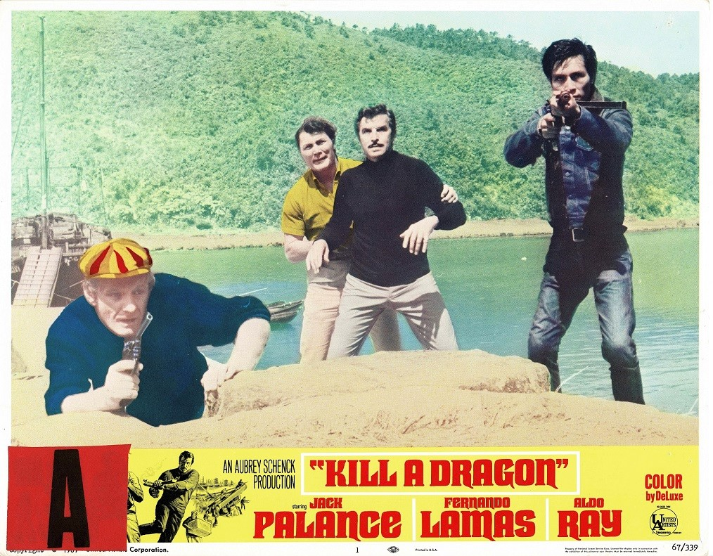 Kill a dragon US Lobby Card with Jack Palance 1967