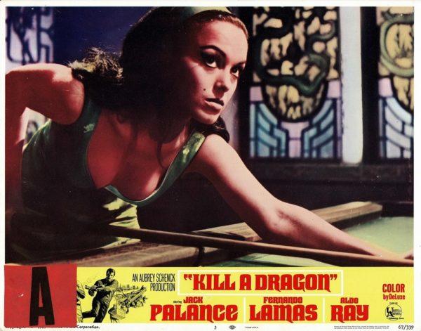 Kill a dragon US Lobby Card with Jack Palance