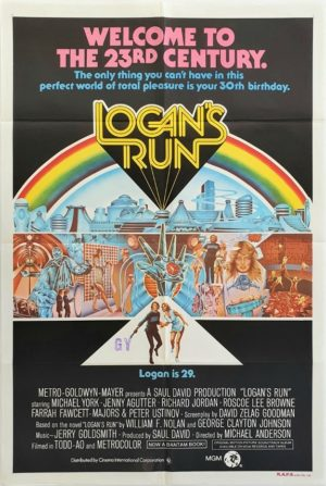 Logan's Run Australian One Sheet movie poster (6)
