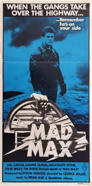 Mad Max Australian Daybill Poster with Mel Gibson (1)