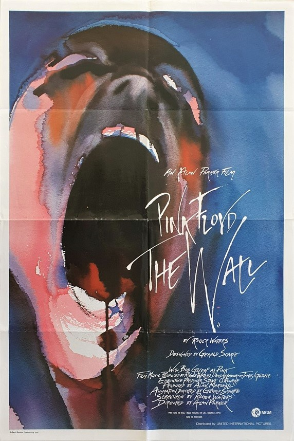 Pink Floyd The Wall us One Sheet poster (2)