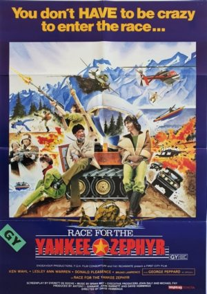 Race For The Yankee Zephyr New Zealand One Sheet Poster (2)