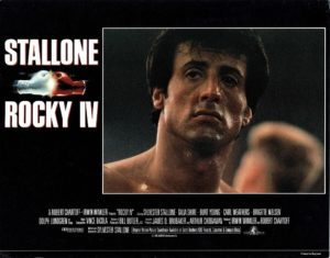 Rocky 4 IV UK Lobby Card (8)