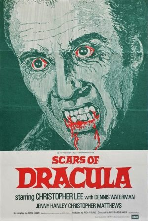 Scars of Dracula UK One Sheet Poster rerelease (1)