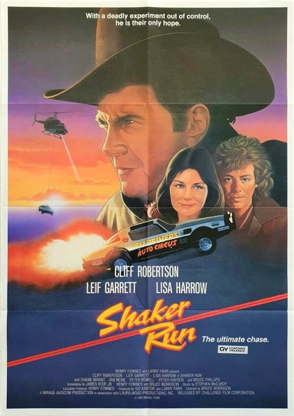 Shaker Run NZ One Sheet Poster (2)