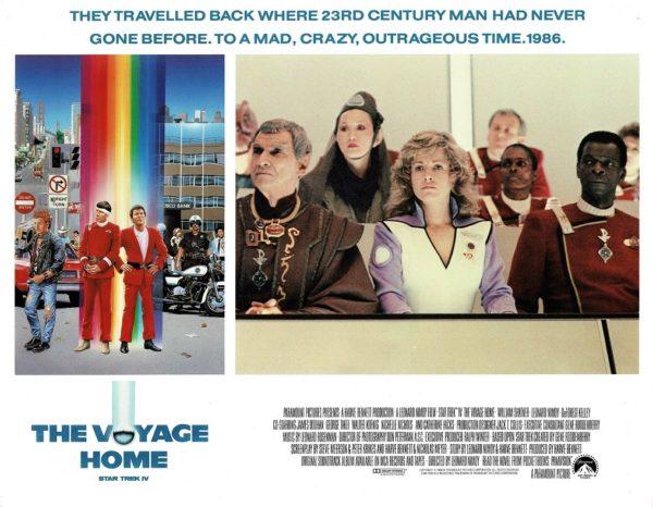 Star Trek IV The Voyage Home US Lobby Card