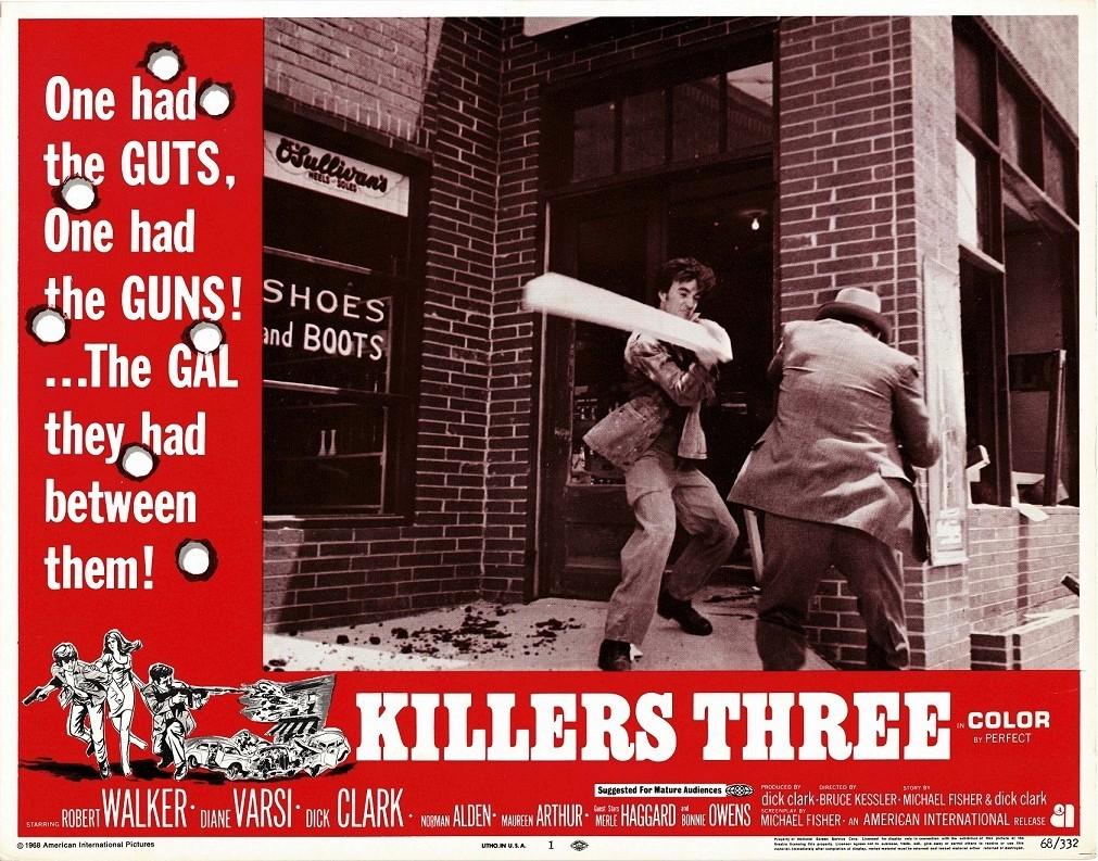 Killers Three US Lobby Card 1968