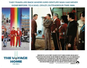 Star Trek IV the Voyage Home US Lobby Card (5)