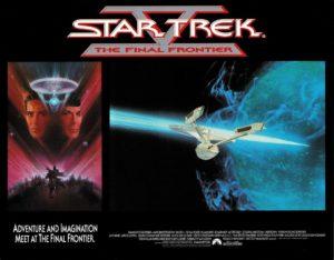 Star Trek V the final frontier US Lobby Card