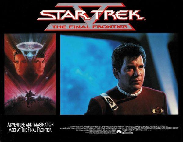 Star Trek V the final frontier US Lobby Card (17)