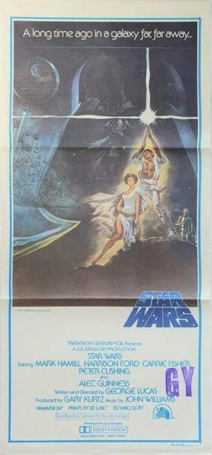 Star Wars Australian NZ Daybill 1977 1st Print (6)