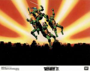 Teenage Mutant Ninja Turtles 3 US Lobby Card Set (2)