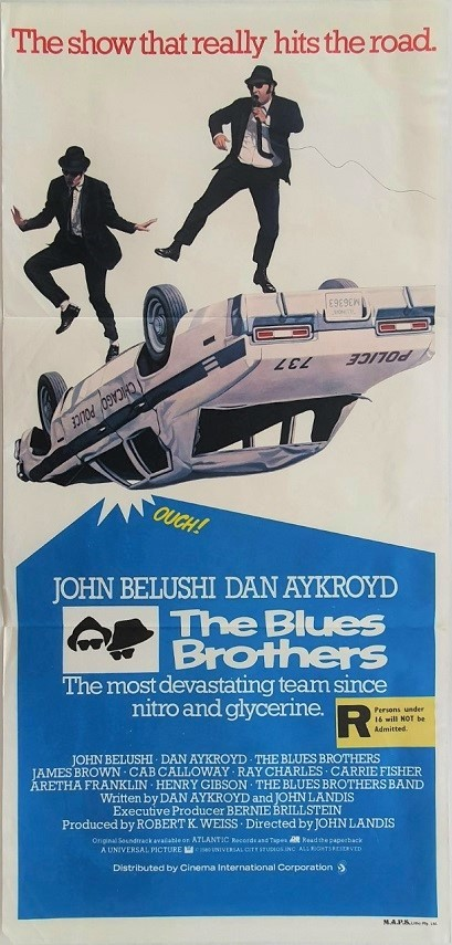 The Blues Brothers Australian Daybill Poster (2)