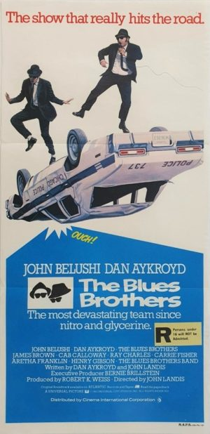 The Blues Brothers Australian daybill movie poster (2)