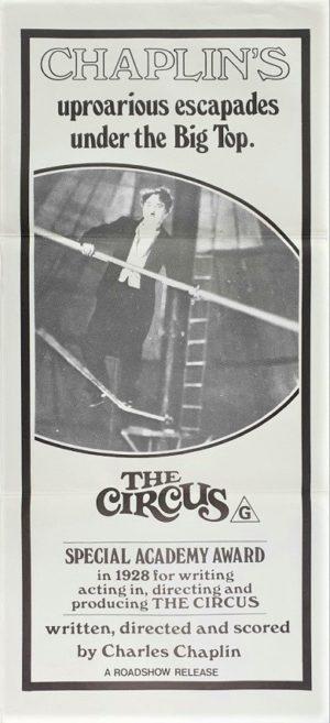 The Circus Australian Daybill Poster Charlie Chaplin (2)