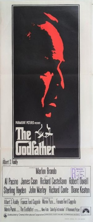 The Godfather Australian Daybill Poster