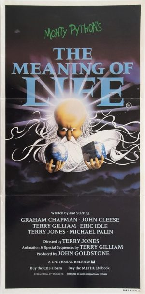 The Meaning Of Life Australian Daybill Poster