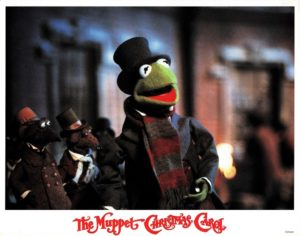 The Muppet Christmas Carol US Lobby Card 1992 Kermit the frog