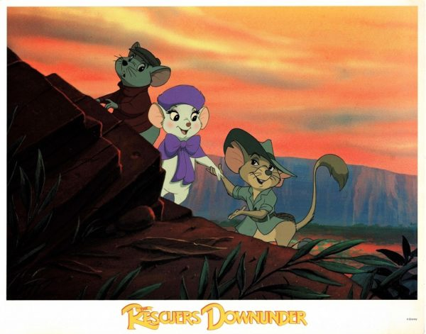 The Rescuers Down Under US Lobby Card Set (6)